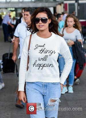 Jessica Wright - TOWIE stars arrive at Malaga airport for filming The Only Way is Marbs at Malaga Airport -...