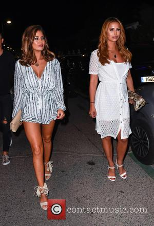 Ferne Mccann and Jessica Wright