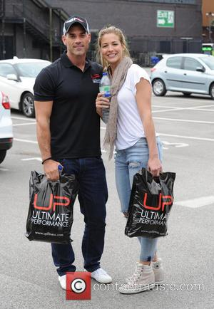 Gemma Atkinson , Olly Foster - Celebrities arrive at The Old Granada Studios Manchester for the opening of Ultimate Performance...