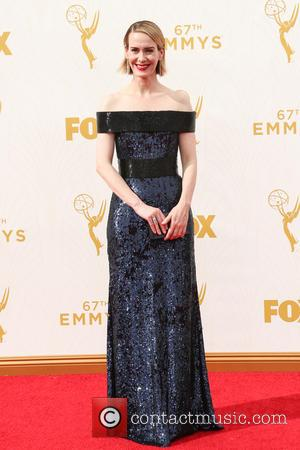 Sarah Paulson - 67th Annual Emmy Awards at Microsoft Theatre at Microsoft Theatre, Emmy Awards - Los Angeles, California, United...