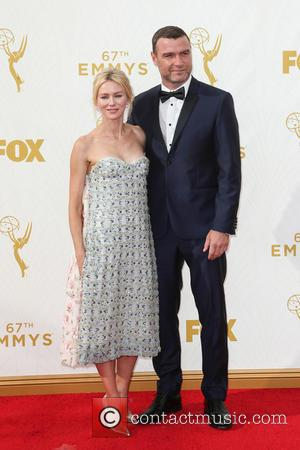 Naomi Watts , Liev Schreiber - 67th Annual Emmy Awards at Microsoft Theatre at Microsoft Theatre, Emmy Awards - Los...