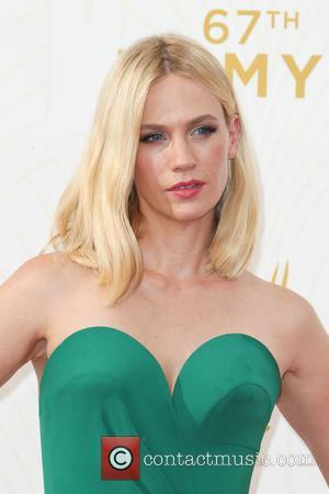 January Jones - 67th Annual Emmy Awards at Microsoft Theatre at Microsoft Theatre, Emmy Awards - Los Angeles, California, United...