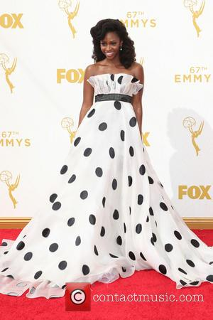 Teyonah Parris - 67th Annual Emmy Awards at Microsoft Theatre at Microsoft Theatre, Emmy Awards - Los Angeles, California, United...
