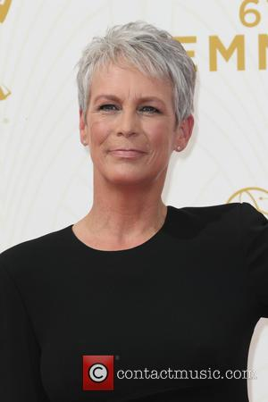 Jamie Lee Curtis - 67th Annual Emmy Awards at Microsoft Theatre at Microsoft Theatre, Emmy Awards - Los Angeles, California,...