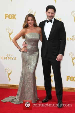 Sofía Vergara , Joe Manganiello - 67th Annual Emmy Awards at Microsoft Theatre at Microsoft Theatre, Emmy Awards - Los...
