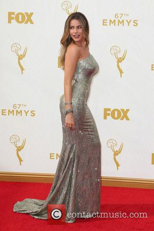 Sofía Vergara - 67th Annual Emmy Awards at Microsoft Theatre at Microsoft Theatre, Emmy Awards - Los Angeles, California, United...