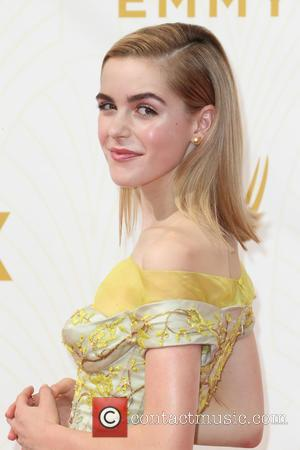 Kiernan Shipka - 67th Annual Emmy Awards at Microsoft Theatre at Microsoft Theatre, Emmy Awards - Los Angeles, California, United...