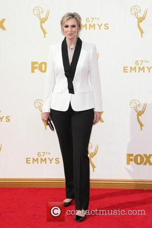 Jane Lynch - 67th Annual Emmy Awards at Microsoft Theatre at Microsoft Theatre, Emmy Awards - Los Angeles, California, United...