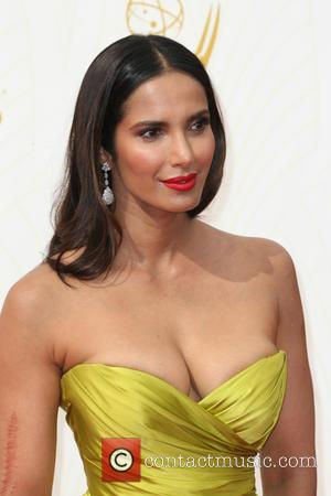 Padma Lakshmi - 67th Annual Emmy Awards at Microsoft Theatre at Microsoft Theatre, Emmy Awards - Los Angeles, California, United...