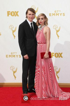 Zoe Kazan , Paul Dano - 67th Annual Emmy Awards at Microsoft Theatre at Microsoft Theatre, Emmy Awards - Los...
