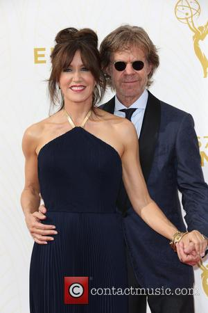 Felicity Huffman , William H. Macy - Celebrities arrive at 67th Emmys Red Carpet at Microsoft Theater. at Microsoft Theatre...