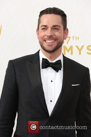 Zachary Levi - Celebrities arrive at 67th Emmys Red Carpet at Microsoft Theater. at Microsoft Theatre - Los Angeles, California,...