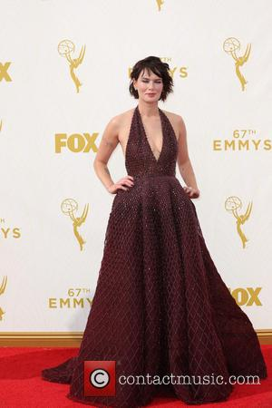 Lena Headey - Celebrities arrive at 67th Emmys Red Carpet at Microsoft Theater. at Microsoft Theatre - Los Angeles, California,...