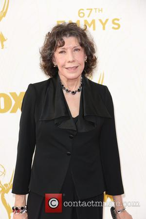 Lily Tomlin - Celebrities arrive at 67th Emmys Red Carpet at Microsoft Theater. at Microsoft Theatre - Los Angeles, California,...