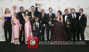cast, crew of 'Game of Thrones', Peter Dinklage , Lena Headley - Celebrities arrive at 67th Emmys Press Room at...