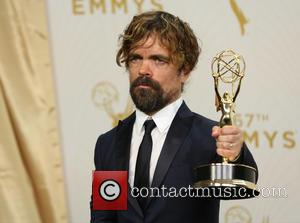 Peter Dinklage - Celebrities arrive at 67th Emmys Press Room at Microsoft Theater. at Microsoft Theatre - Los Angeles, California,...