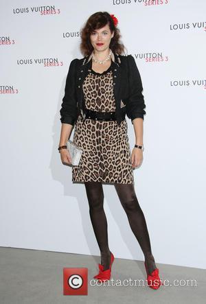 Jasmine Guinness - London Fashion Week Spring/Summer 2016 - Louis Vuitton Series 3 - Arrivals at London Fashion Week -...
