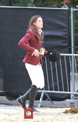Jessica Springsteen - Jessica Springsteen competing in the Longines Global Champions Tour of Vienna aka Vienna Masters. The daughter of...