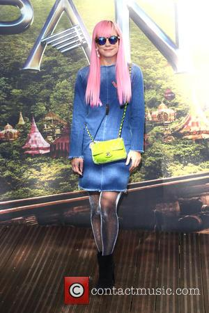 Lily Allen - World Premiere of 'Pan' at the Odeon, Leicester Square, London at Odeon Leicester Square - London, United...
