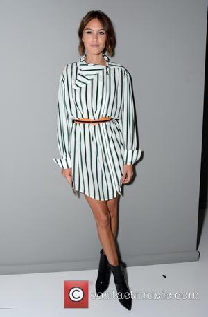 Alexa Chung - London Fashion Week - Louis Vuitton series 3 Exhibition Launch Party - Inside Arrivals at London Fashion...