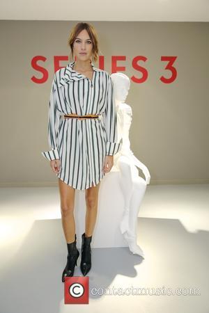 Alexa Chung - London Fashion Week Spring/Summer 2016 - Louis Vuitton Series 3 - Inside at London Fashion Week -...