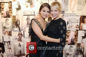 Selena Gomez , Michelle Williams - London Fashion Week Spring/Summer 2016 - Louis Vuitton Series 3 - Inside at London...