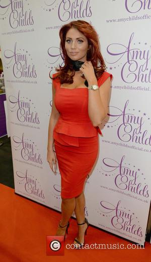 Amy Childs - Amy Childs on her stall at the Pro Beauty Fashion exhibition at Manchester Central - Manchester, United...