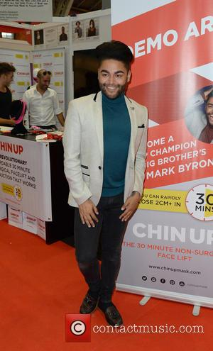Mark Byron - Amy Childs on her stall at the Pro Beauty Fashion exhibition at Manchester Central - Manchester, United...
