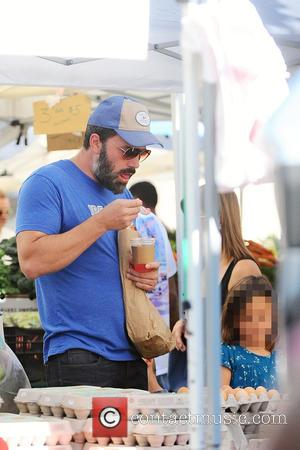 Ben Affleck , Seraphina Rose Affleck - Ben Affleck and Jennifer Garner take their children to the Pacific Palisades Farmers...
