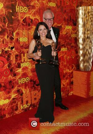 Julia Louis-Dreyfus , Brad Hall - HBO's Official 2015 Emmy After Party at Pacific Design Center - West Hollywood, California,...