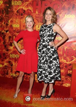 Angela Kinsey and Jenna Fischer
