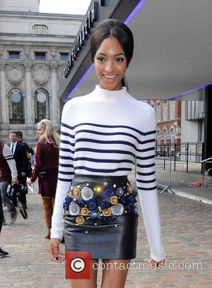 Jourdan Dunn - Celebrities attend LFW s/s 2016: Topshop Unique - catwalk show - London, United Kingdom - Sunday 20th...