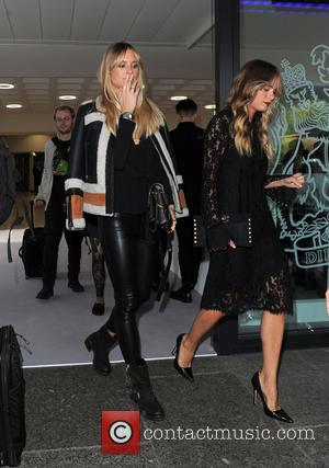 Cressida Bonas - Celebrities attend LFW s/s 2016: Topshop Unique - catwalk show - London, United Kingdom - Sunday 20th...