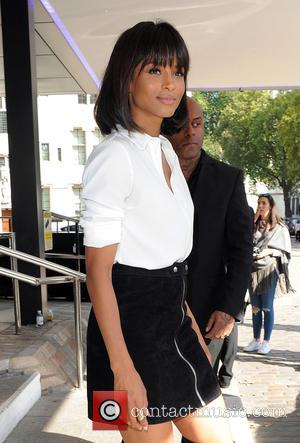 Ciara - Celebrities attend LFW s/s 2016: Topshop Unique - catwalk show - London, United Kingdom - Sunday 20th September...