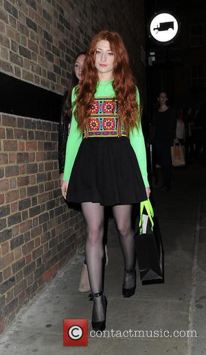 Nicola Roberts - London Fashion Week Spring/Summer 2016 - House Of Holland - Outside Arrivals at London Fashion Week -...