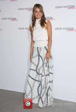 Cressida Bonas - London Fashion Week - Louis Vuitton series 3 Exhibition Launch Party - Arrivals at London Fashion Week...