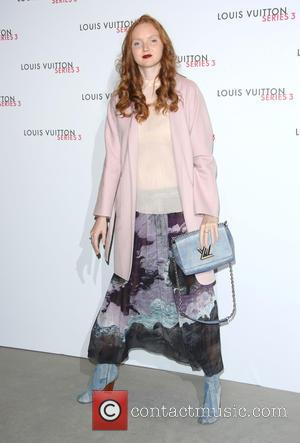 Lily Cole - London Fashion Week - Louis Vuitton series 3 Exhibition Launch Party - Arrivals at London Fashion Week...