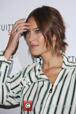 Alexa Chung - London Fashion Week - Louis Vuitton series 3 Exhibition Launch Party - Arrivals at London Fashion Week...