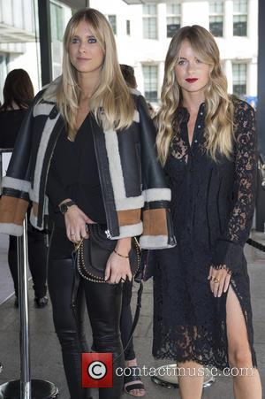 Cressida Bonas - LFW Spring/Summer 2016 - Topshop Unique - Arriva - London, United Kingdom - Sunday 20th September 2015
