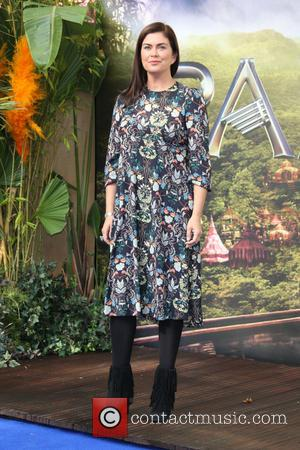 Amanda Lamb - Pan World Premiere held at Leicester Square - Arrivals - London, United Kingdom - Sunday 20th September...
