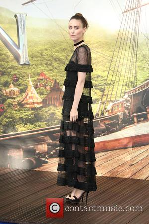 Rooney Mara - Pan World Premiere held at Leicester Square - Arrivals - London, United Kingdom - Sunday 20th September...