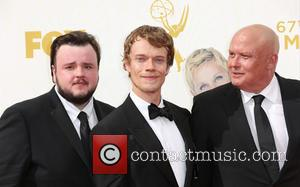 John Bradley-west, Alfie Allen and Conleth Hill