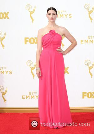 Jessica Pare - 67th Annual Primetime Emmy Awards held at the Microsoft theater - Arrivals at Microsoft Theatre, Primetime Emmy...