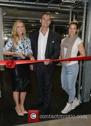 Cath Tyldesley, Nick Mitchell and Gemma Atkinson
