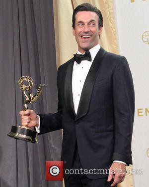 Jon Hamm - 67th Primetime Emmy Awards - Press Room at Microsoft Theater at LA Live, Primetime Emmy Awards, Emmy...