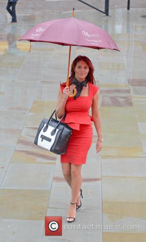 Amy Childs - Amy Childs arrives at Manchester Central for the second day of Pro Beauty North Exhibition - Manchester,...