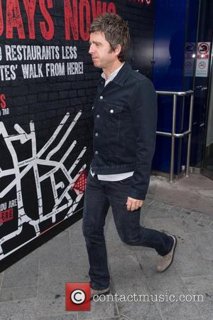 Noel Gallagher - Celebrities at the Capital Radio studios at Global House, Leicester Square - London, United Kingdom - Monday...
