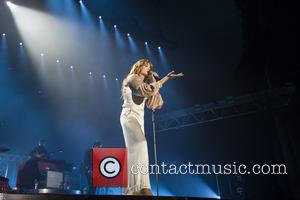 Florence Welch , Florence + The Machine - Florence and the Machine performing live on stage at Alexandra Palace -...