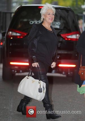 Denise Welch - Denise Welch and Janine Duvitski outside ITV Studios - London, United Kingdom - Monday 21st September 2015