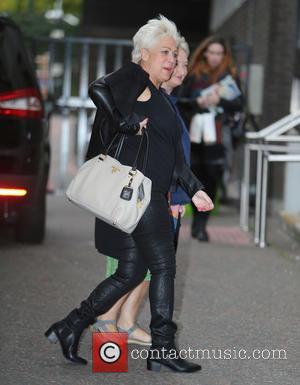 Denise Welch , Janine Duvitski - Denise Welch and Janine Duvitski outside ITV Studios - London, United Kingdom - Monday...